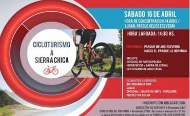 Cicloturismo a Sierra Chica