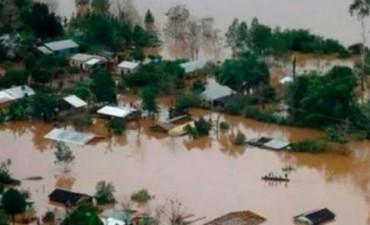 Reúnen donaciones para los inundados del litoral