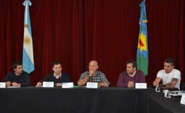 Balance de la visita del Subsecretario de Deportes de la Provincia Ramiro Giménez