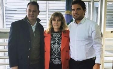 Cellillo y Lordén se reunieron con el Director de Educación Superior