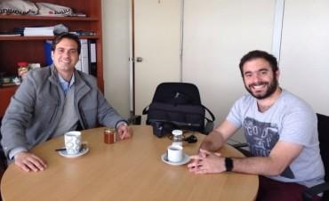 Azul: encuentro con autoridades de la Subsecretaría de Turismo bonaerense