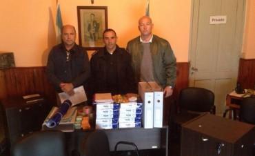 Reunión en las dependencias policiales de Hinojo y Sierra Chica