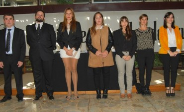 El Colegio de Abogados de Azul recibió a nuevos profesionales