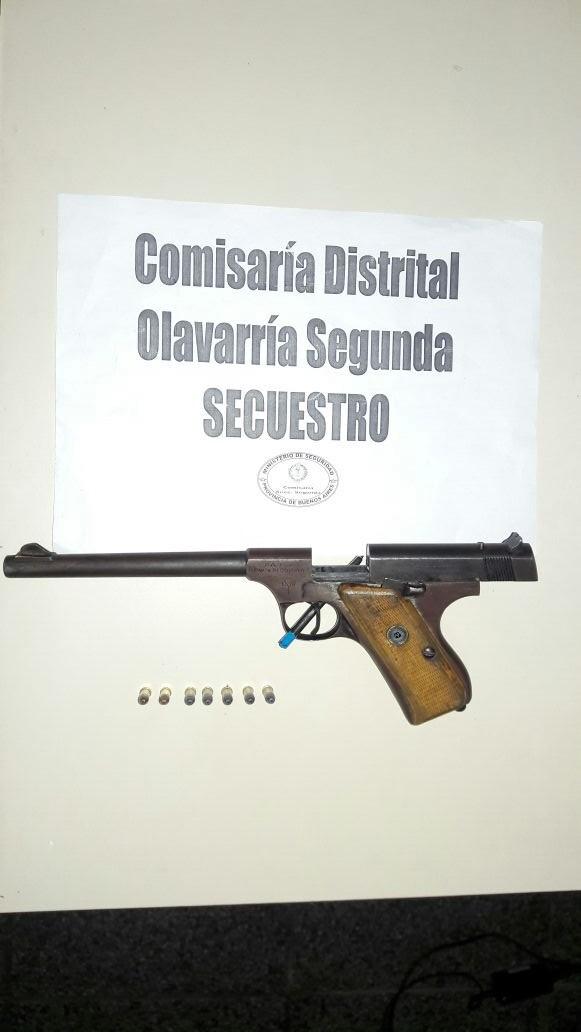 Aprehenden a una persona por infracción a la ley de armas