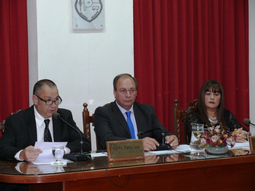 Celillo inauguró el período ordinario de sesiones