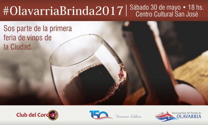 #OlavarriaBrinda2017: la primera feria de vinos de la ciudad