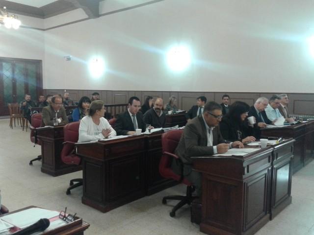 En la primera sesión del HCD todo se aprobó por unanimidad