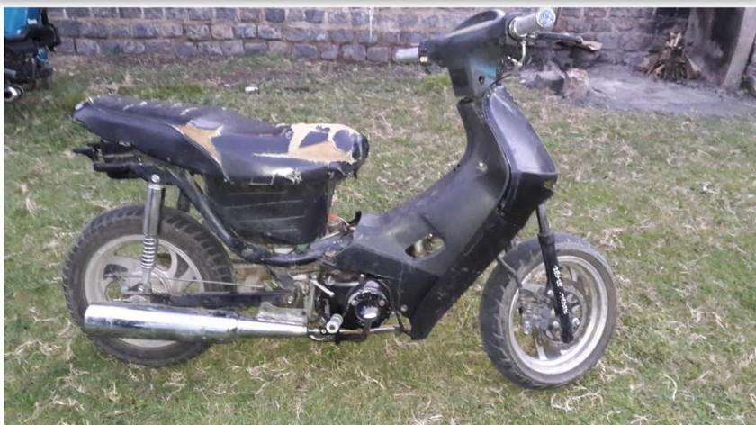 Retuvieron una moto con números adulterados.