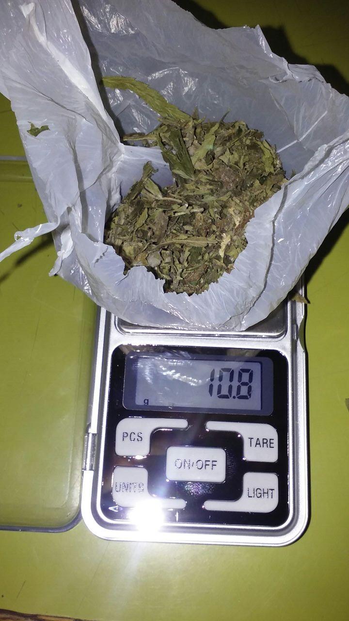 Aprehendieron a un chico por llevar marihuana