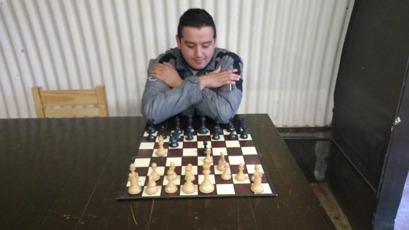 Ajedrez : Cristian Jarque campeón invicto del Pimponazo