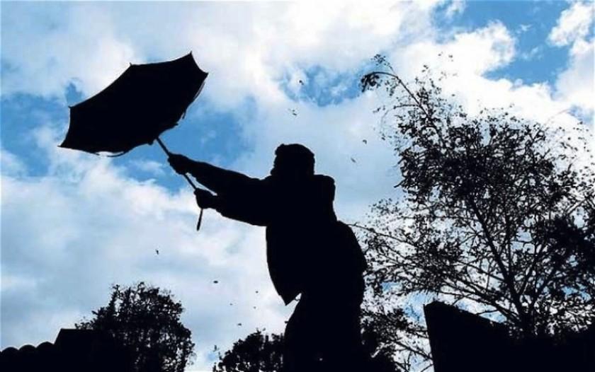 Los vientos fuertes seguirán, al menos, hasta la noche del miércoles
