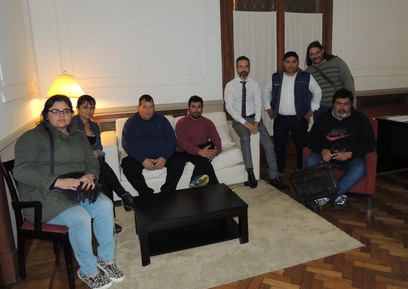 El Sindicato de Municipales se reunió con el Jefe de Gabinete