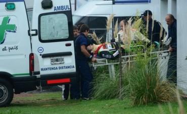 TC: dos pilotos internados en el Hospital tras un accidente