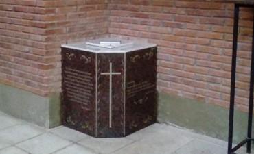 La Iglesia San José cuenta con cinerario