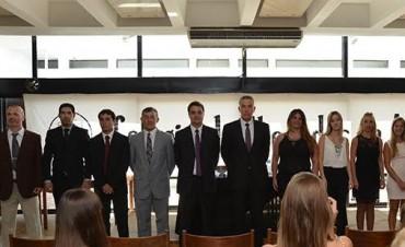 Juras de nuevos profesionales Olavarrienses