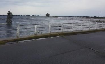 Alvear: el intendente recorrió las zonas afectadas por las lluvias