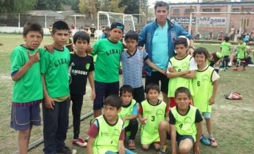 Cuatro barrios en un Encuentro de Escuelitas de Fútbol
