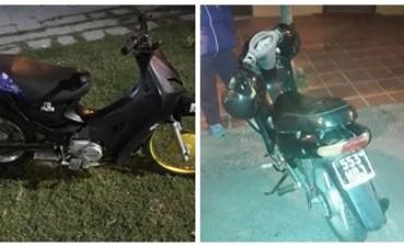 Hallan dos motos con pedido de secuestro