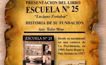 Presentan el libro de la Escuela 25 en Sierras Bayas