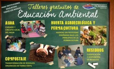 Comienzo de los talleres de Educación Ambiental