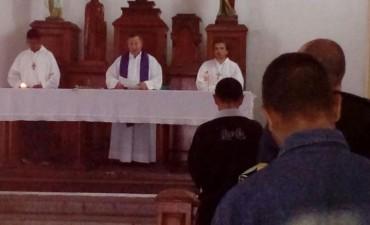 Pascua de Resurrección en la capilla Nuestra Señora del Carmen