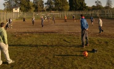 Comenzó el gran torneo de fútbol en la Unidad N° 38
