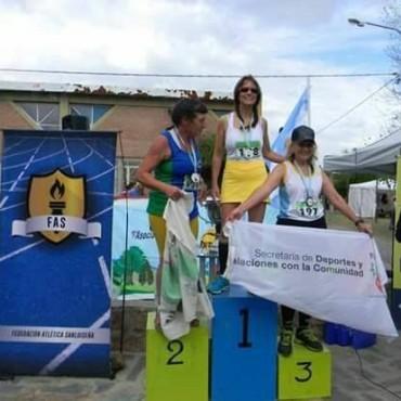Mabel Gancedo Campeona Nacional en Atletismo