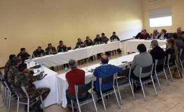 Reunión de Seguridad organizada por Coordinación Zonal de Seguridad Rural Olavarría