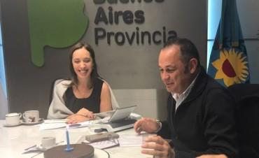 El intendente Cellillo se reunió con la gobernadora Vidal