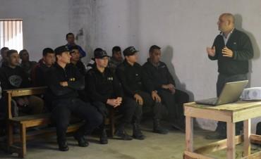 Capacitación sobre Seguridad e Higiene en la unidad Nº 2