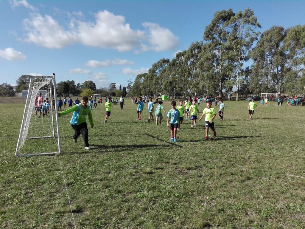El Interbarrial se jugó en Eucaliptus