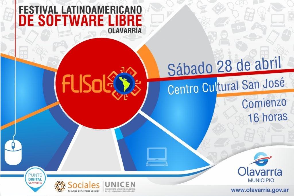 Olavarría será sede del Festival Latinoamericano de Software Libre
