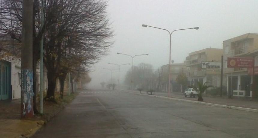 Alertan por nieblas para este martes