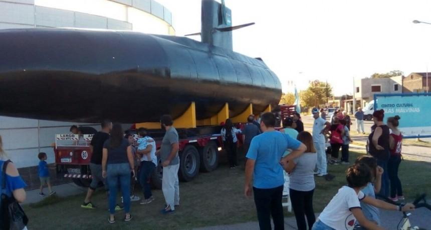 Expectativa por la llegada la réplica del ARA San Juan
