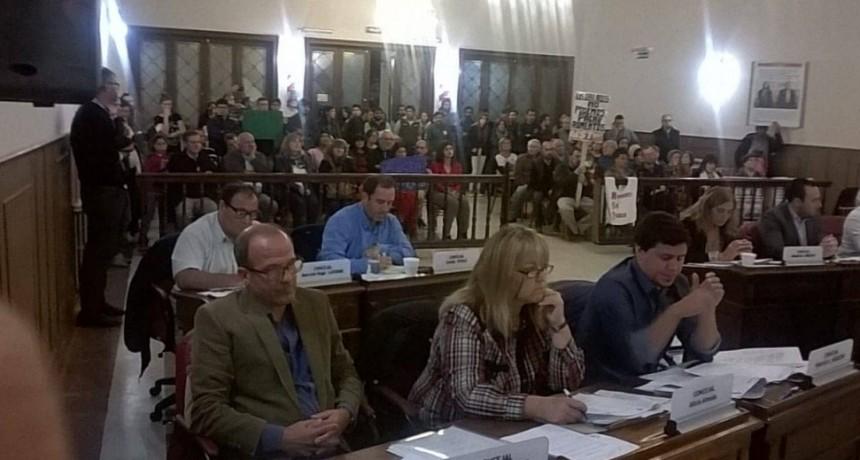 Se realizó la primera sesión ordinaria del Concejo Deliberante