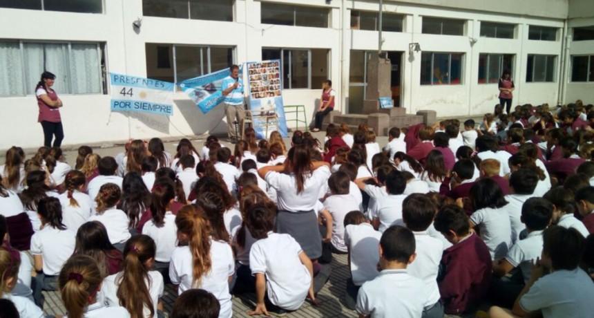 Emotivo homenaje a los tripulantes del ARA San Juan