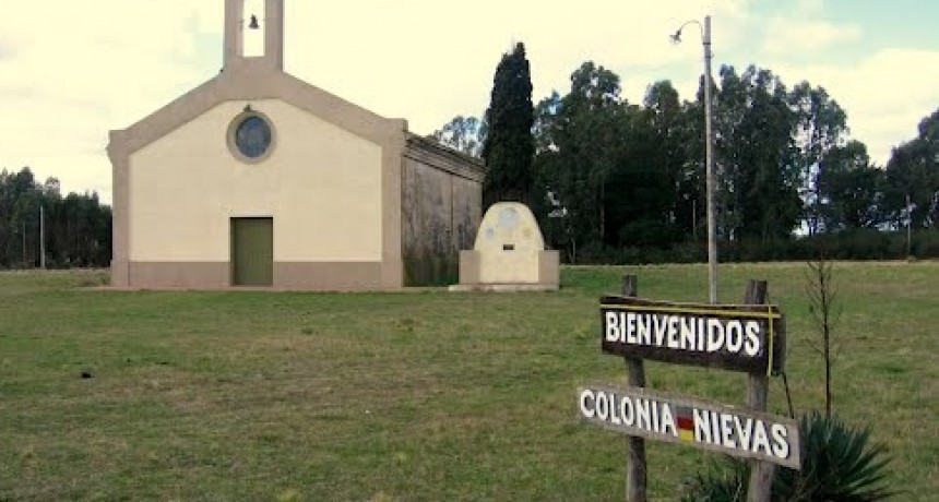 Colonia Nievas: preparan la capilla para habilitarla en la fiesta de la Kerb