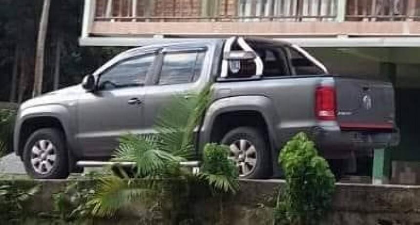 Robaron camioneta en Colonia Hinojo