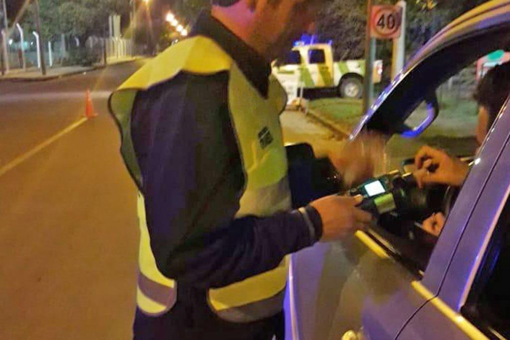 Más de 44 mil pesos de multa por conducir con 2,08 de alcohol en sangre