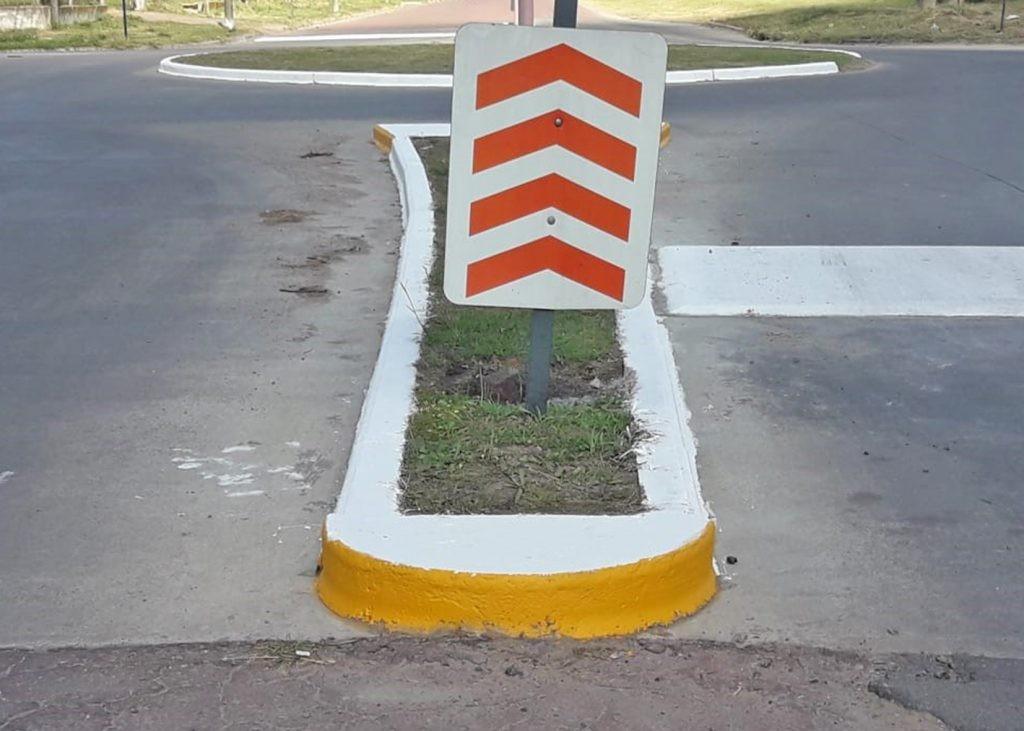 Control Urbano: demarcaciones en Avda. Del Valle y Av. Alberdi