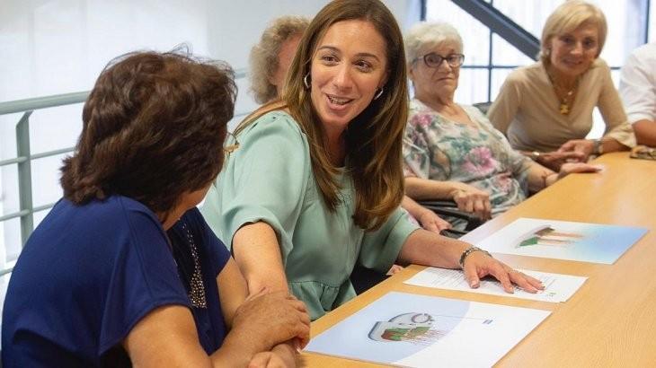 Vidal adelantó a madres de excombatientes cómo será su monumento homenaje