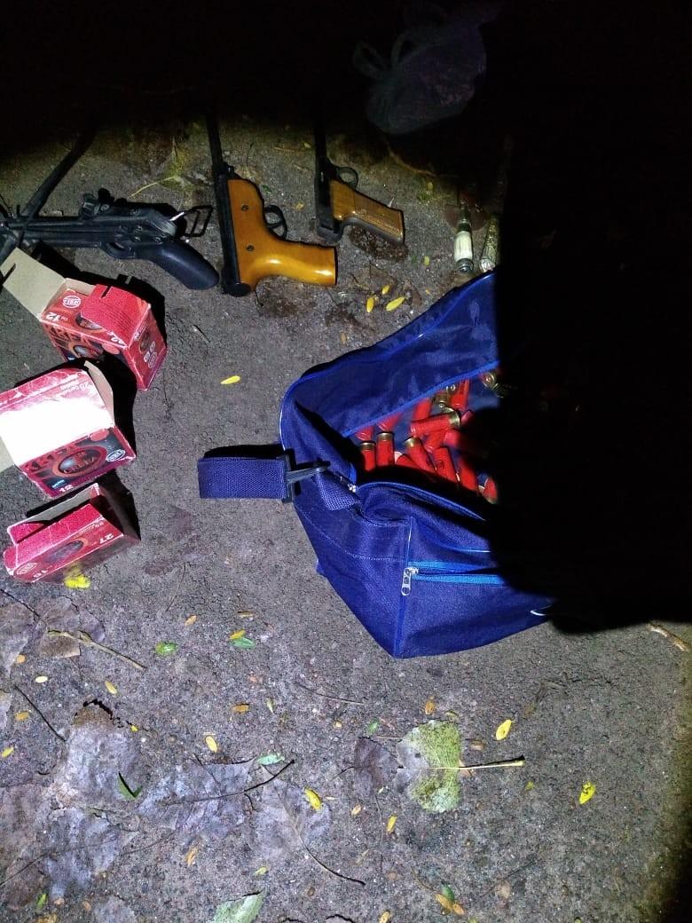 La policía impidió que se concrete el robo a una quinta
