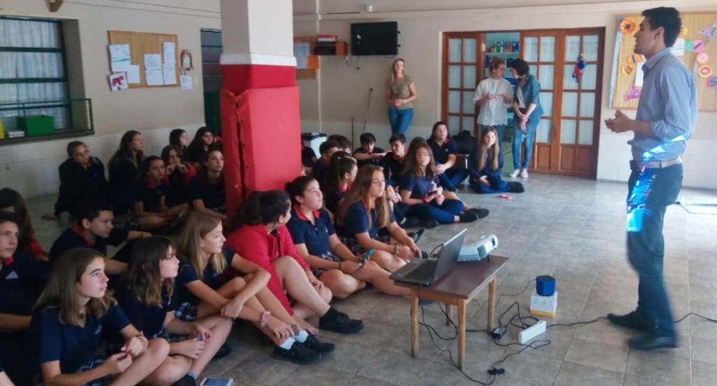 Olavarría conoce Olavarría: charlas informativas en escuelas del Partido