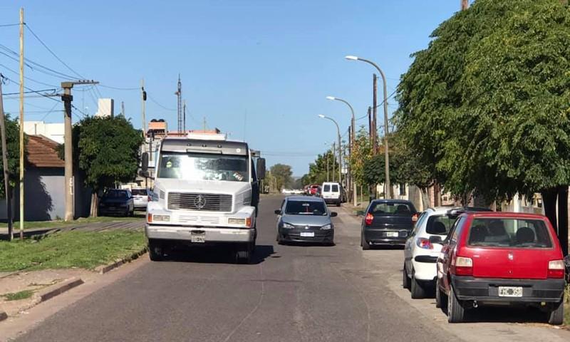 Proponen que la calle San Martín entre Urquiza y Pellegrini sea de mano única