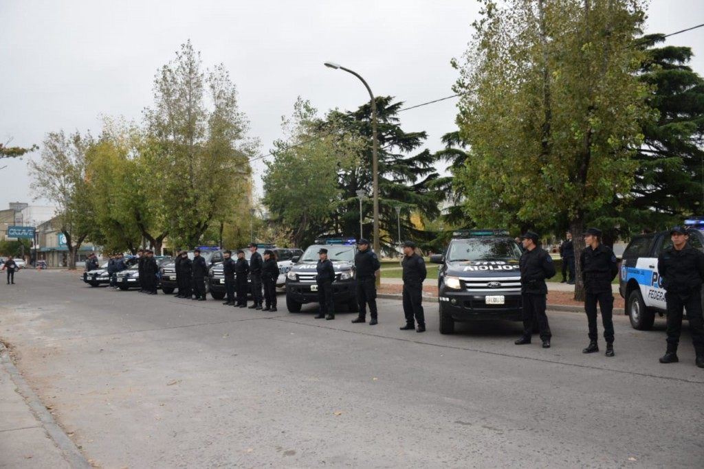 La Federal realiza operativos por pedido del Ministerio de Seguridad