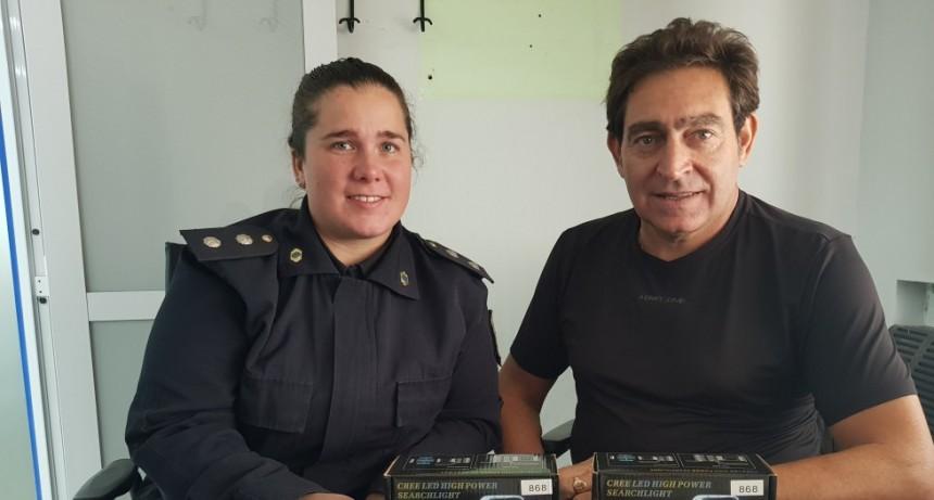Dependencias policiales y el Cuartel de Bomberos recibieron donaciones por parte del Municipio