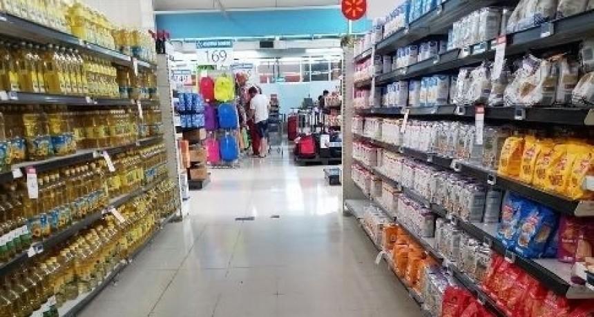 Febrero dejó los precios de la Canasta de Alimentos 9% arriba en Olavarría