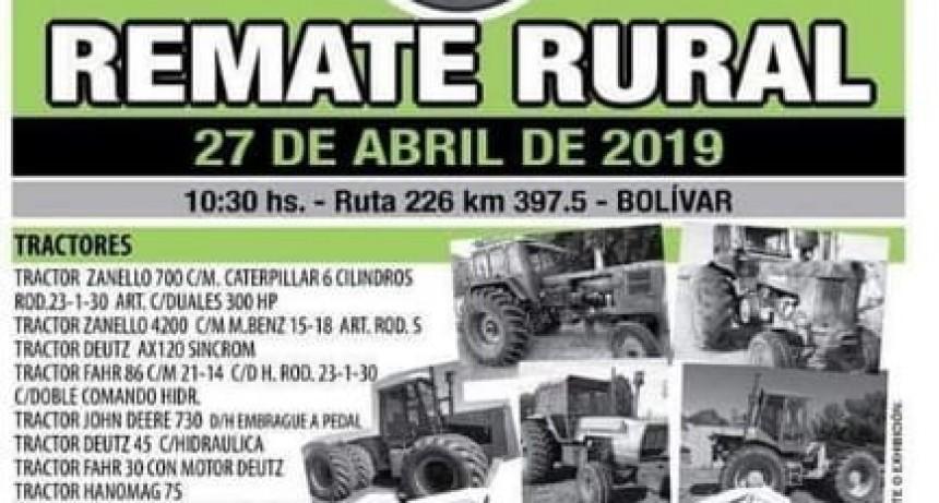 El remate rural más grande de la pcia. de Buenos Aires llega a Bolivar