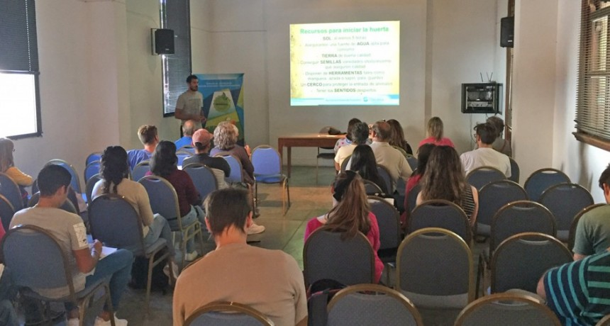 Soberanía alimentaria y cuidado del ambiente: comenzó el taller de Huerta Agroecológica 2019