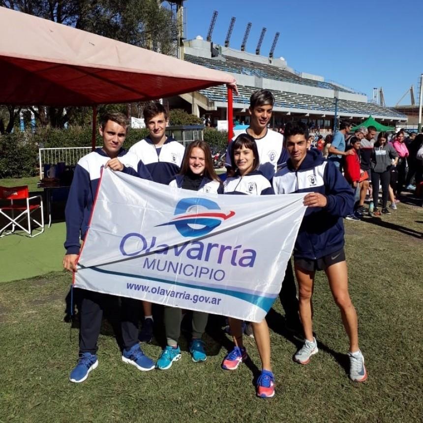 Atletas de El  Fortín en Mar del Plata